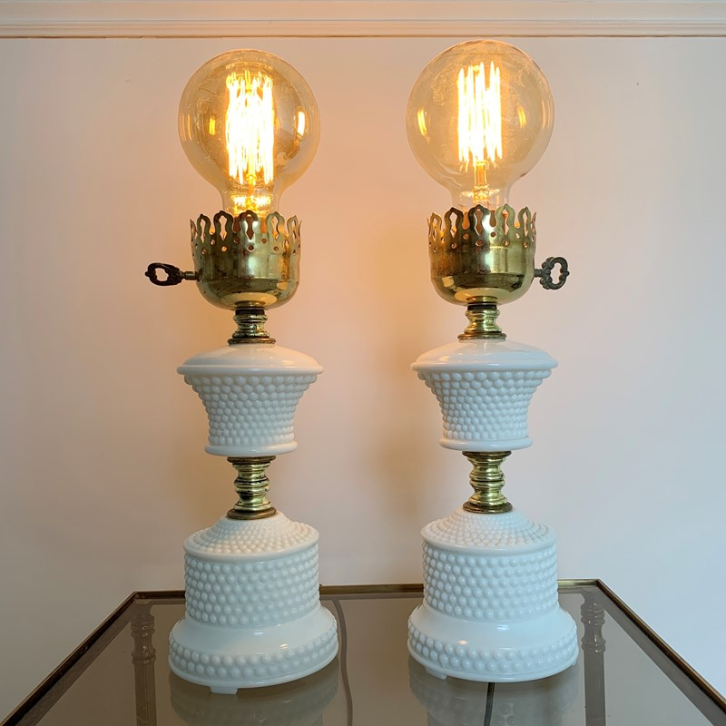 1950'S Hobnail Milk Glass Table Lamps-lct-home-img-6125-main-637327530192435548.jpg