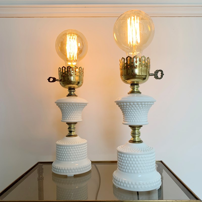 1950'S Hobnail Milk Glass Table Lamps-lct-home-img-6126-main-637327530232903986.jpg