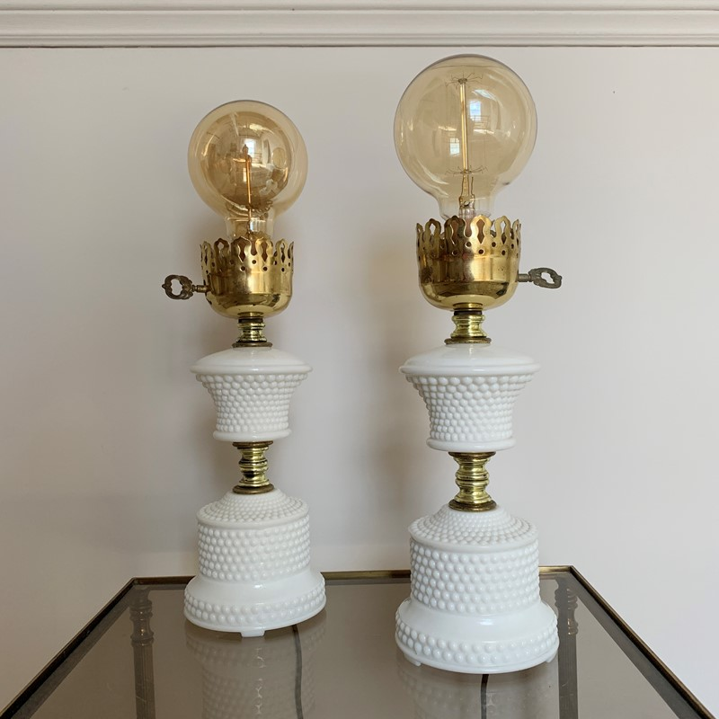 1950'S Hobnail Milk Glass Table Lamps-lct-home-img-6127-main-637327530271341197.jpg
