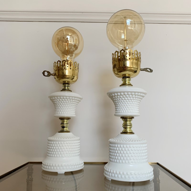 1950'S Hobnail Milk Glass Table Lamps-lct-home-img-6128-main-637327529085945042.jpg
