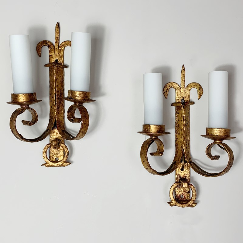 1930's Spanish Gilt Hand Forged Wall Sconce's-lct-home-img-7067-main-637339645435405898.jpg