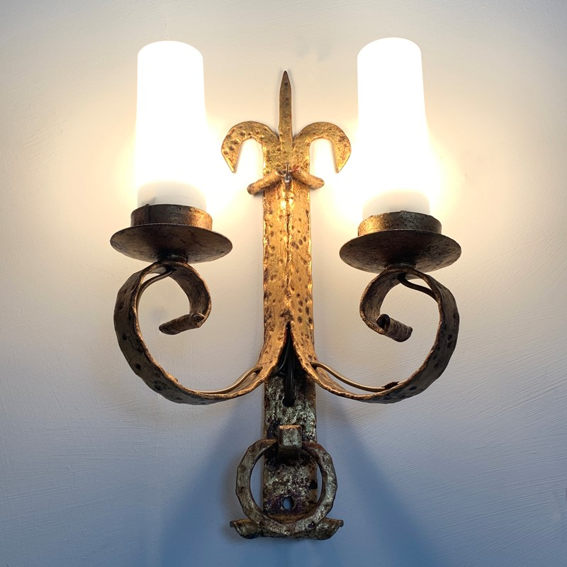 1930's Spanish Gilt Hand Forged Wall Sconce's-lct-home-img-7078-main-637339646341647153.jpg