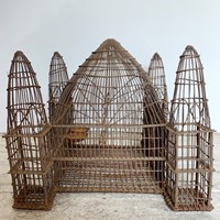 Early 19th Century, Anglo Indian Iron Bird Cage