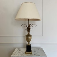 Pineapple Table Lamp Attributed To Maison Charles