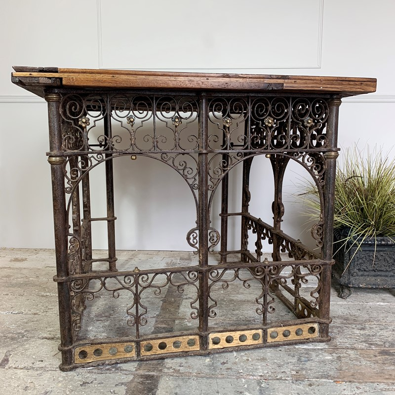 18th C Forged Wrought Iron Church Pulpit Table-lct-home-img-8122-main-637370775877610226.jpg