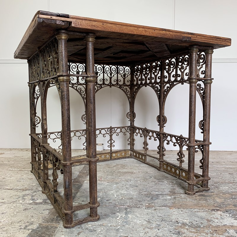 18th C Forged Wrought Iron Church Pulpit Table-lct-home-img-8127-main-637370775980693475.jpg