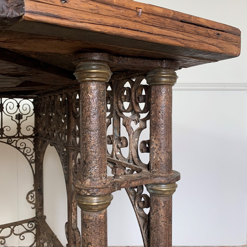 18th C Forged Wrought Iron Church Pulpit Table-lct-home-img-8133-main-637370776444932907.jpg