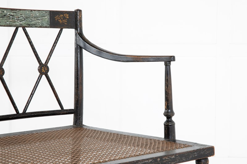 19th Century Regency Ebonised Cane Seat Sofa-lee-wright-antiques-1x3a0705-main-637285918356758292.JPG