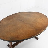 Large 19th Century French Vendange Table
