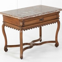 Early 18th Century Belgian Oak Side Table