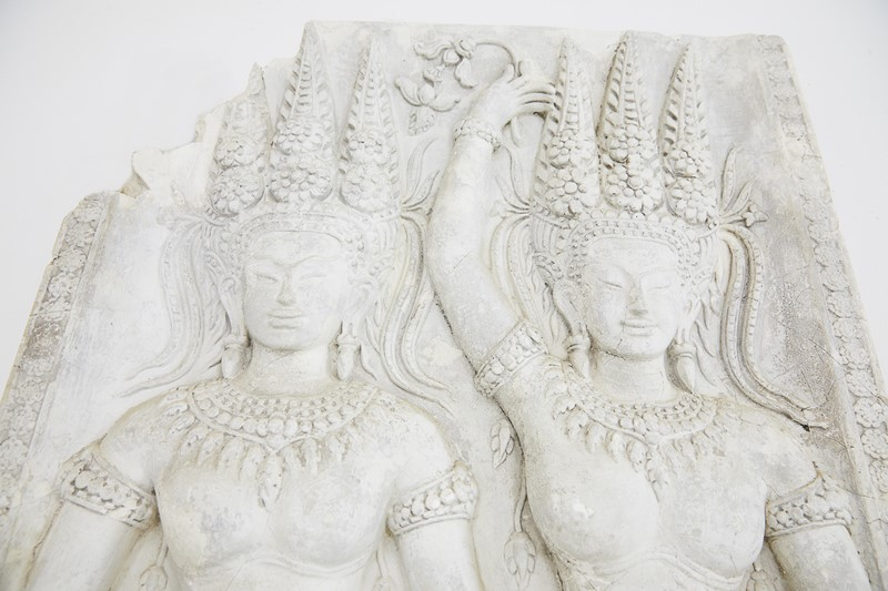 A Plaster Cast Panel of a Cambodian Angkor Wat Tem-lee-wright-antiques-a-plaster-cast-panel-of-a-cambodian-angkor-wat-temple-carving-228-main-636899783004509135.JPG