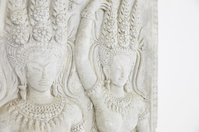 A Plaster Cast Panel of a Cambodian Angkor Wat Tem-lee-wright-antiques-a-plaster-cast-panel-of-a-cambodian-angkor-wat-temple-carving-232-main-636899783022790185.JPG