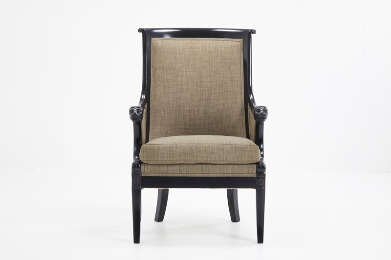 19th Century French Ebonised Armchair -lee-wright-antiques-emptyname-116bw-main-636964658668788935.JPG