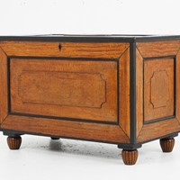 19th Century Anglo Indian Satinwood Chest