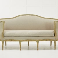 18th Century French Sofa with Original Paint