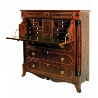 Scottish yew secretaire