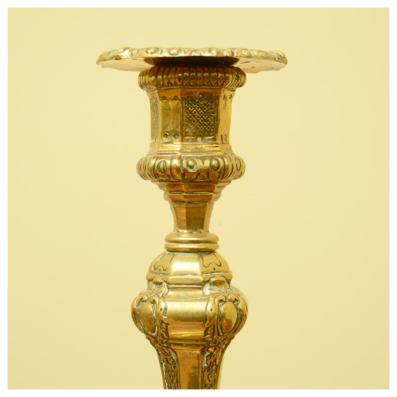 A pair of French Régence style ormolu candlesticks-leslie-baggott-c10047-12-main-636992181004028266.jpg