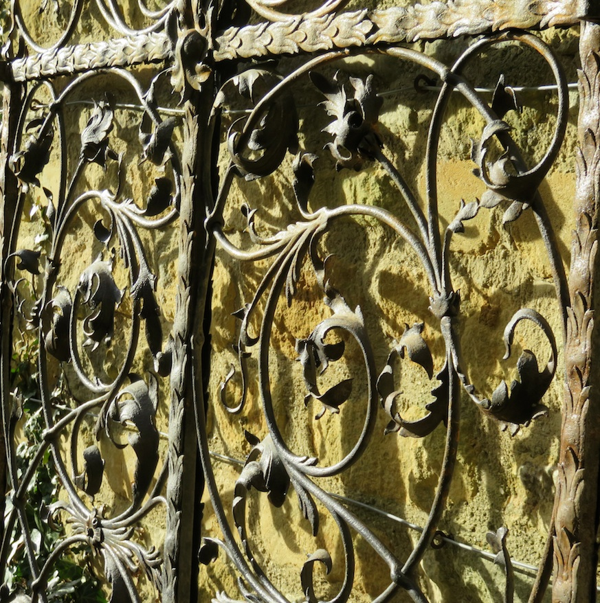 A pair of very fine Italian antique garden gates Decorative