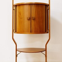 1960's Rosewood Drinks Cabinet