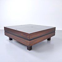 Mid Century Coffee Table in Teak by Sormani, Italy