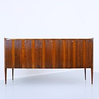 Mid Century Sideboard by Paolo Buffa.  Three locka