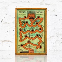 Trench football - ww1 propaganda game