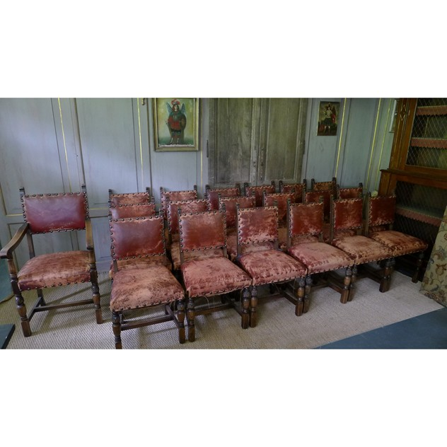 19 Early 20thC. leather studded oak dining chairs-loran-co-19 chairs_edited-1_main.jpg