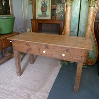 Irish farmhouse work table