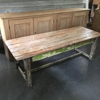 Early 20th century coffee console table.