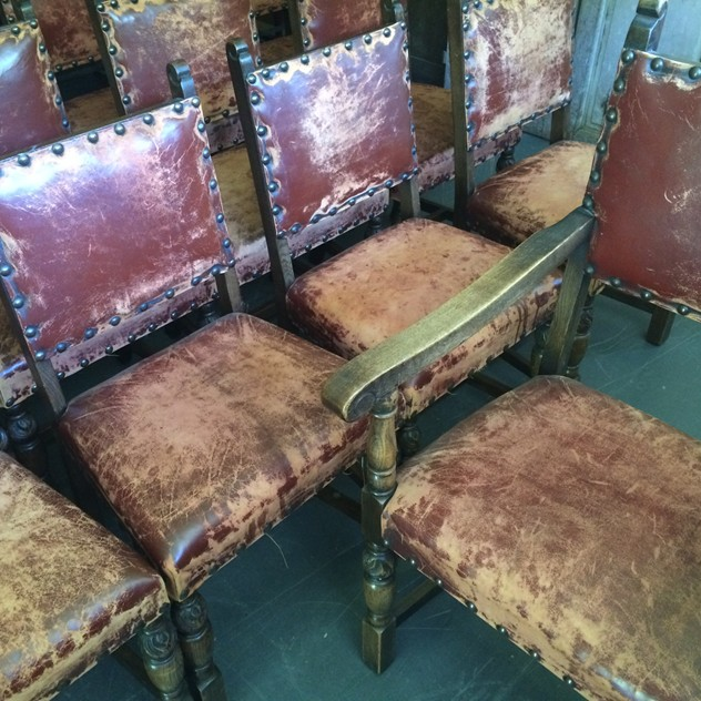 19 Early 20thC. leather studded oak dining chairs-loran-co-image_main-1-1.jpg