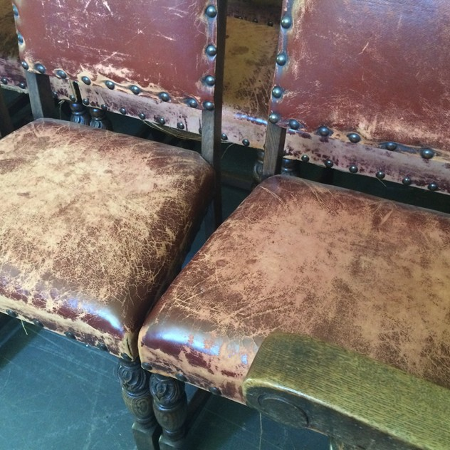 19 Early 20thC. leather studded oak dining chairs-loran-co-image_main-1.jpg