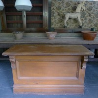 19th Century shop counter/bank of drawers