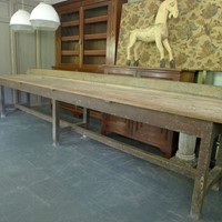Large kitchen table/dining table/farmhouse