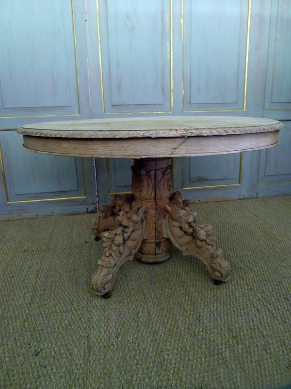 19th Century raw oak centre table.-loran-co-oak-centre-3-main-637294797711493535.jpg