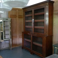 Outstanding Georgian bookcase.