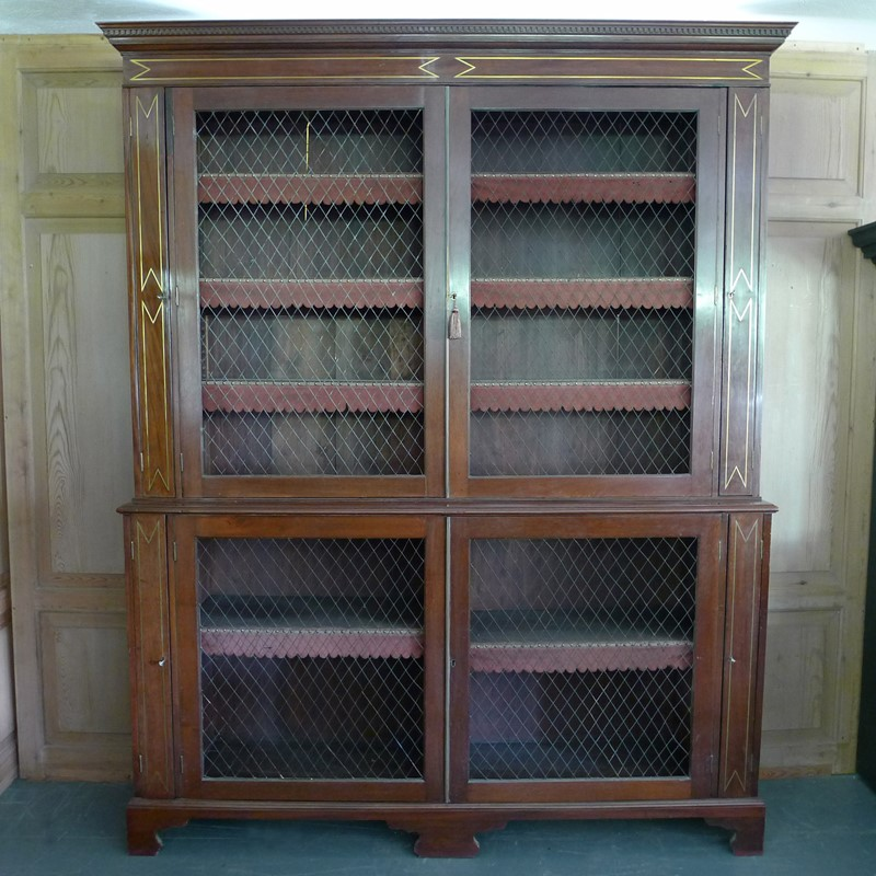 Outstanding Georgian bookcase.-loran-co-regency-bookcase-b-main-637025452562657527.jpg