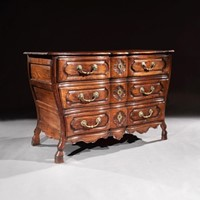 Mid 18th Century Louis Xv Chestnut Commode