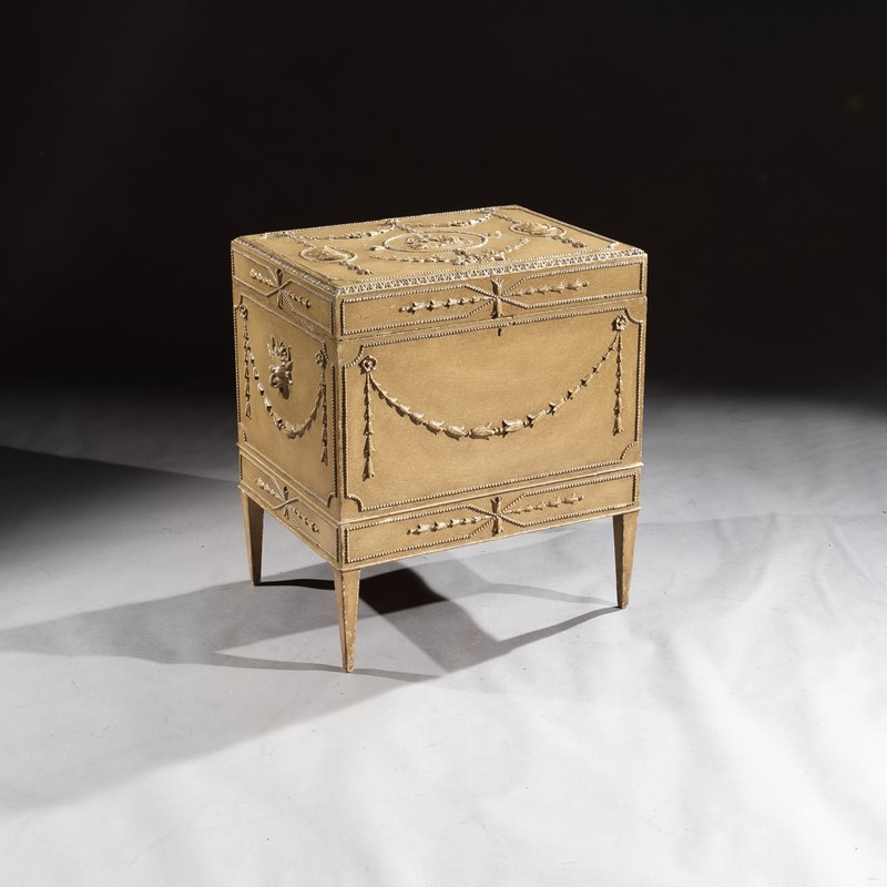 19th C Painted Carton Pierre Chest / Cellaret-loveday-pair-of-chairs-1-main-637330997373058359.JPG