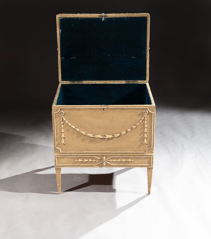 19th C Painted Carton Pierre Chest / Cellaret-loveday-pair-of-chairs-15-main-637330998047553659.JPG