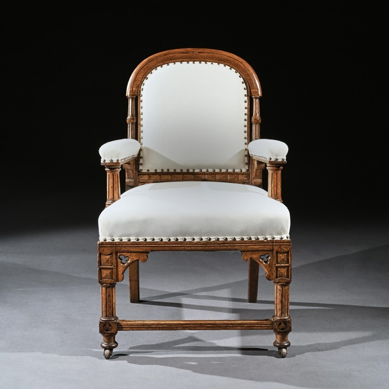 19th C Oak Gothic Armchair, G Tilley Of Birmingham-loveday-sqaure02-large-main-637393162587509261.jpg