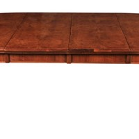 Burr Walnut Extending Dining Table