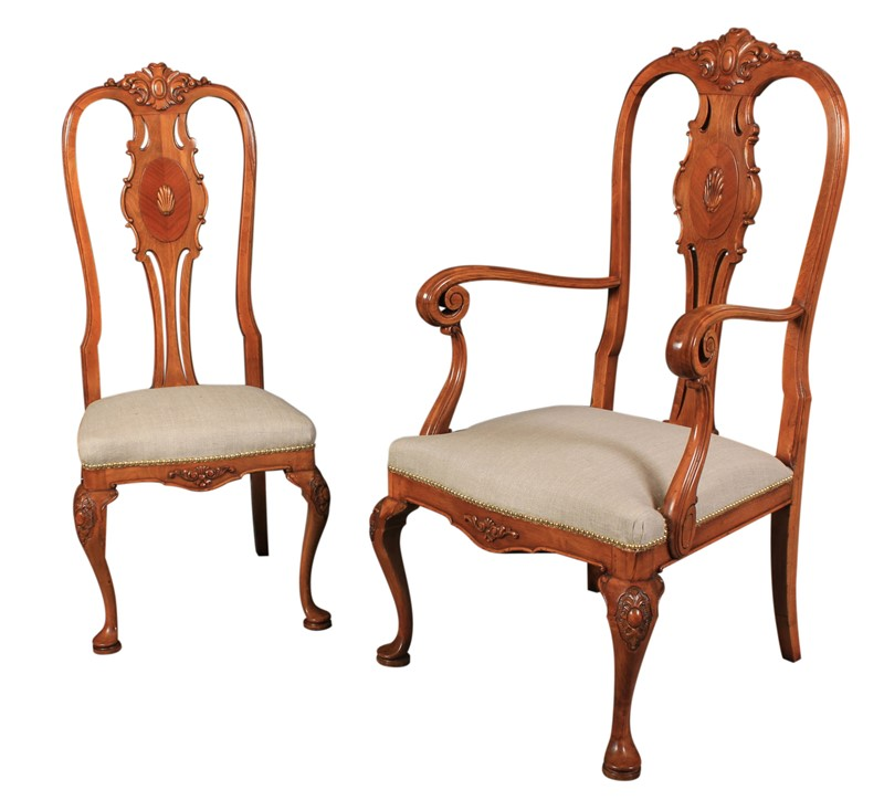 Set of 8 Queen Anne Style Walnut Dining Chairs-lt-antiques-img-1530-main-637149006707519440.JPG