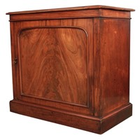 Victorian Mahogany Single Door Cupboard
