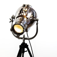 Polished Original Strand Stage Light on Tripod