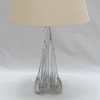 Ile de France crystal lamp