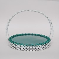 Yvon Roy serving platter