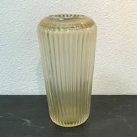Murano Glass Vase by Fratelli Toso, 1950s