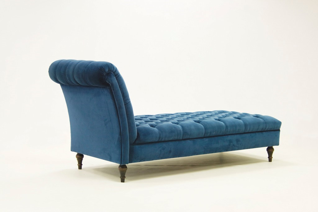 Divano Capitoné Hand Made Chaise Longue - Decorative Collective