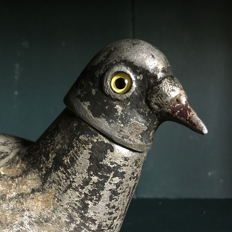 Antique metal pigeon decoy - 'Tru-iss'-marc-kitchen-smith-ks6916-img-2973-1000px-main-637070224608460489.jpg