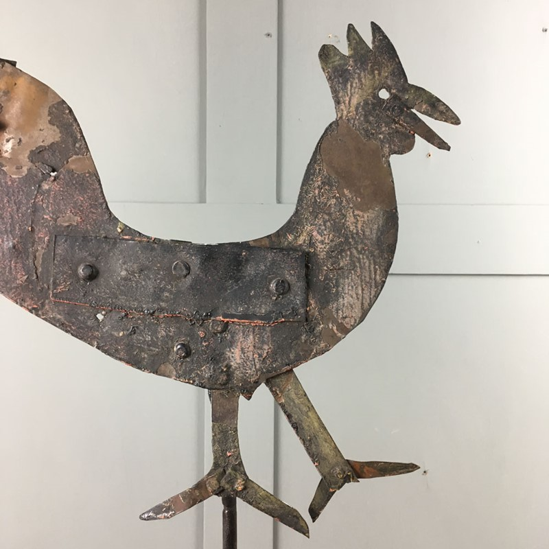 Antique metal weathervane - cockerel-marc-kitchen-smith-ks6973-img-5494-1000px-main-637153993417554658.jpg